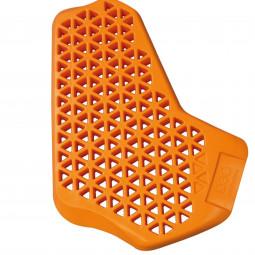 CHEST PROTECTOR D3O CP1 RIGHT orange