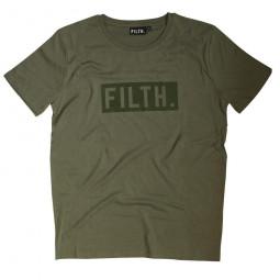FILTH. Tee KHAKI/KHAKI Logo L