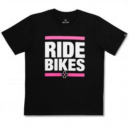 "Tričko Muc-Off čierne Ride Bikes "" veľ. S"""