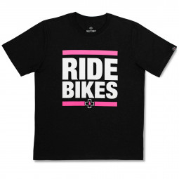 "Tričko Muc-Off čierne Ride Bikes"" veľ. XL"""