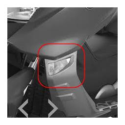 LED smerovka pre SPORT - ľavá