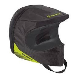 bag HELMET black/lime green