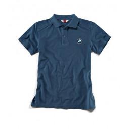 Polo košeľa Logo pánska modrá
