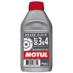 DOT 3 & 4 Brake Fluid 0,5 L